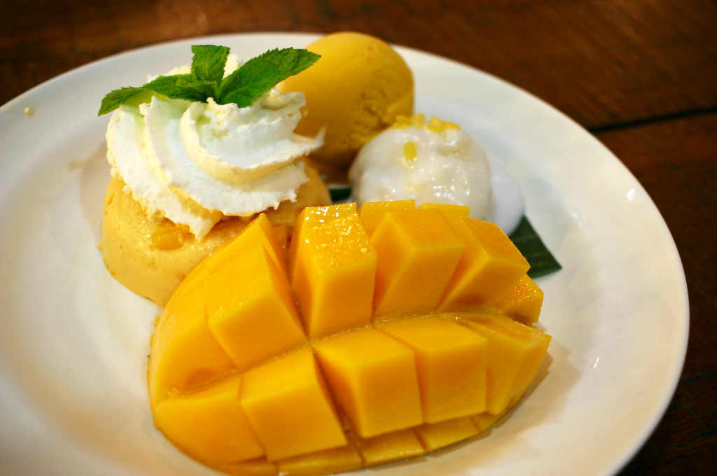 バンコク(Mango Tango)で食べたマンゴーデザート