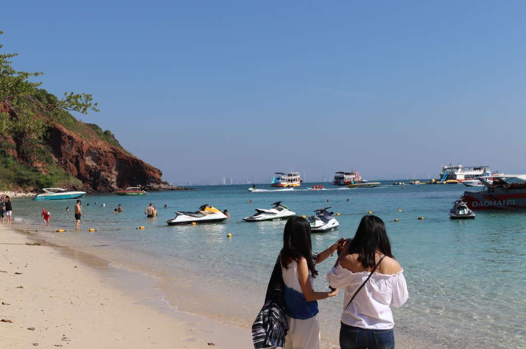 ラン島のヌアンビーチ