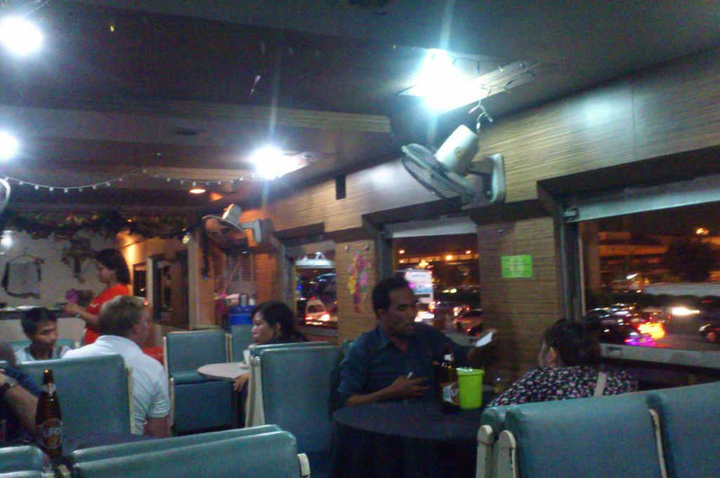 タイ国鉄の食堂車