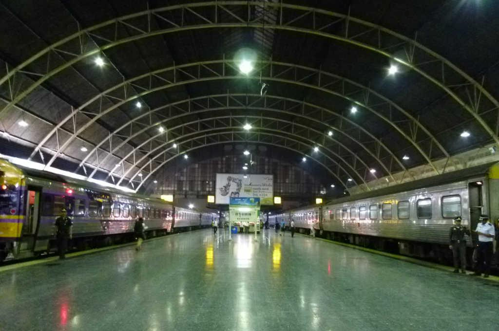 タイ国鉄、バンコク駅の構内