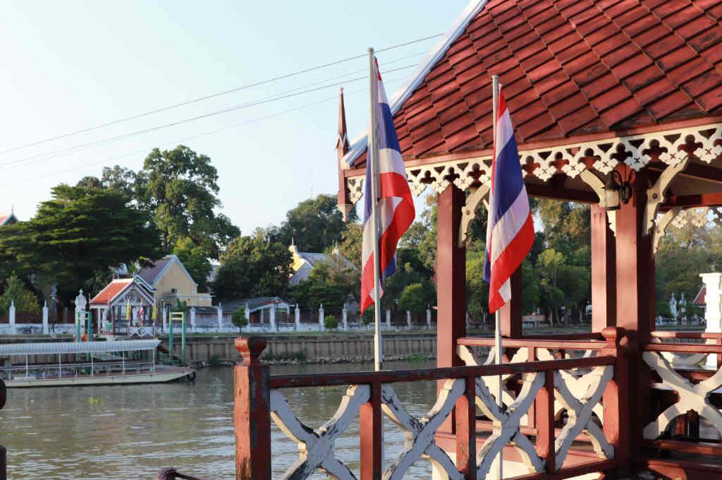 タイのバンパインにある寺院