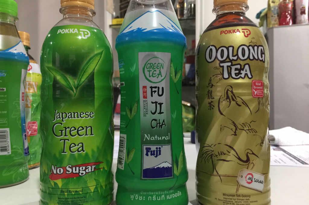 タイで買える日本式のお茶