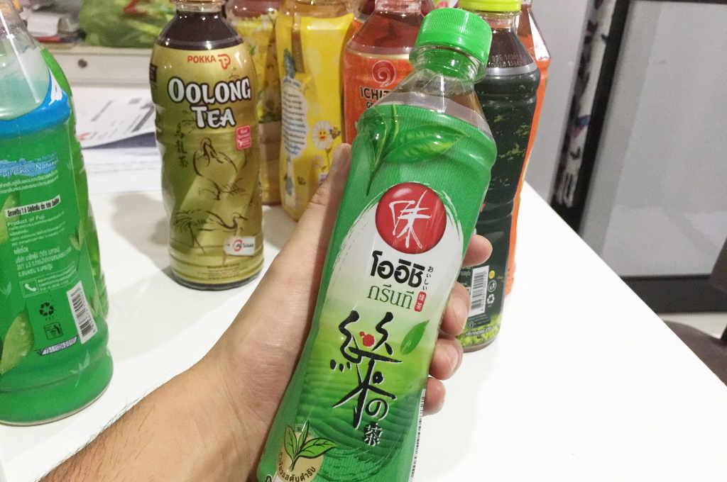 タイ「おいしい」緑茶