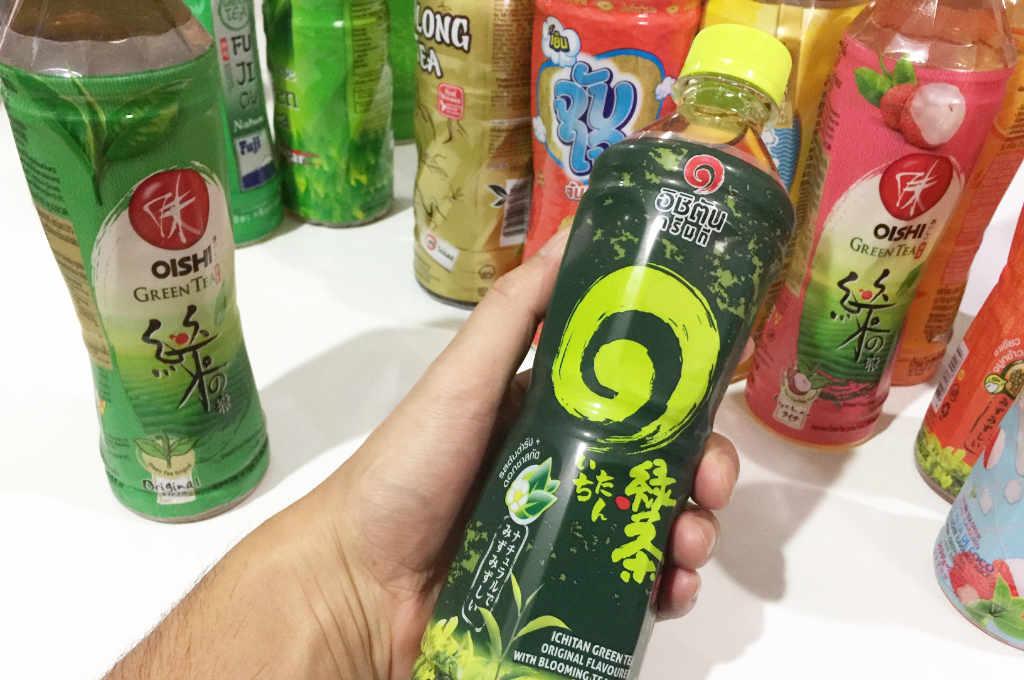 タイ「いちたん緑茶」