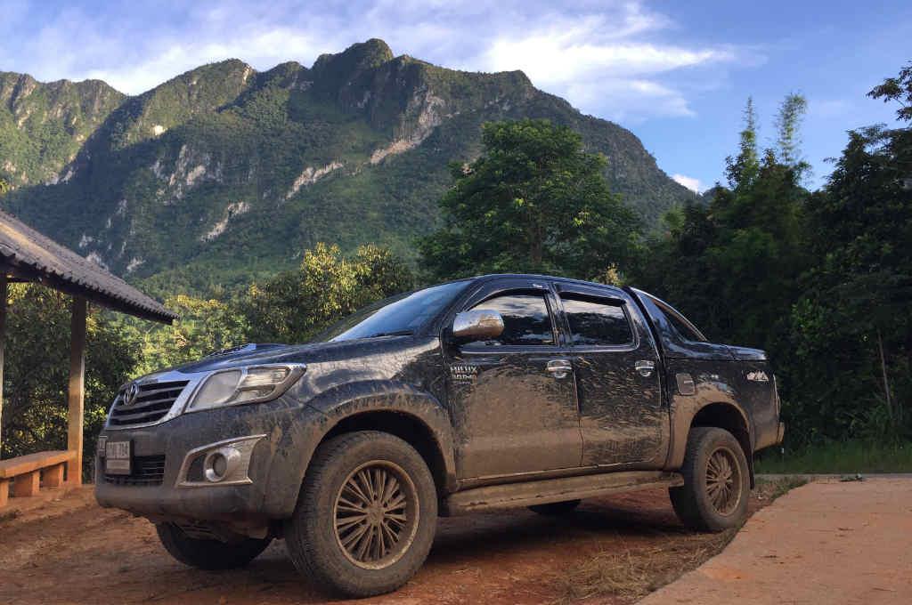 タイ北部にあるチェンダオ山