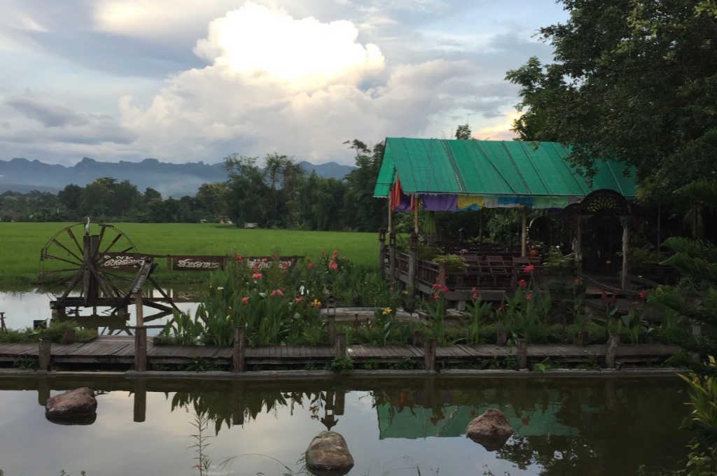 タイのチェンダオ町