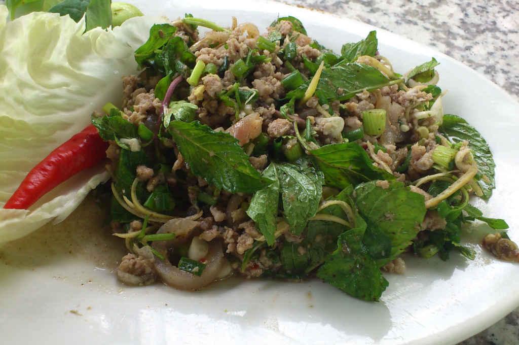 タイで食べたラープ