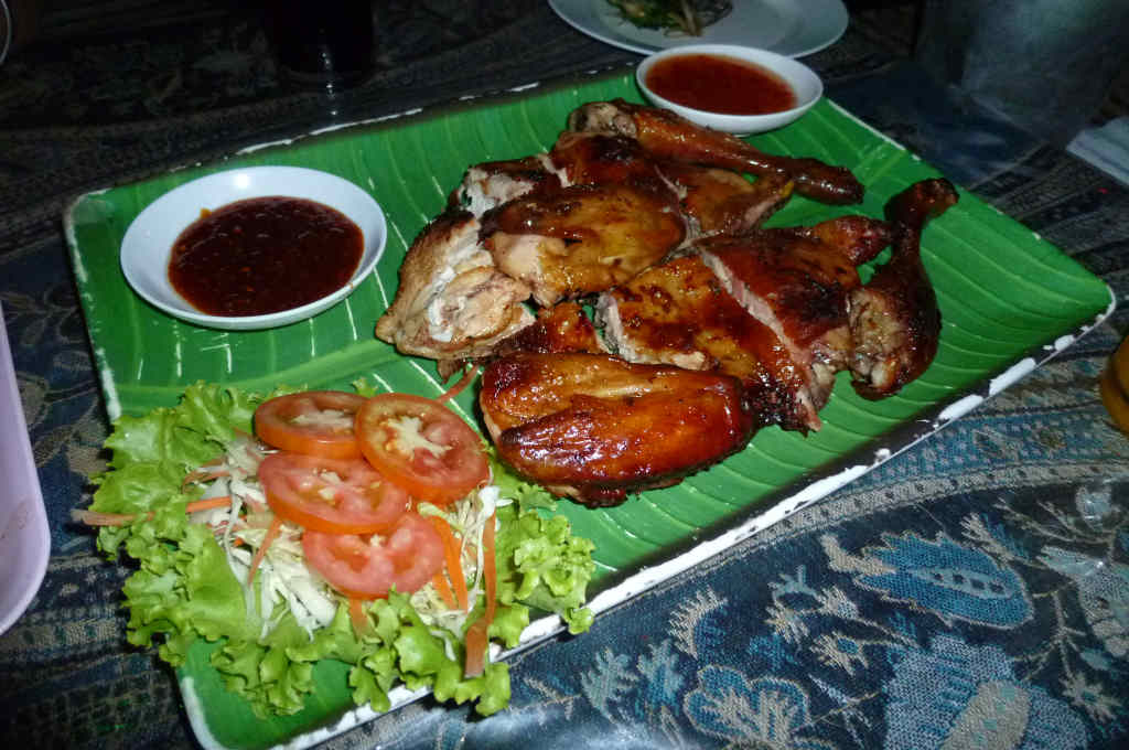 タイで食べたガイヤーン