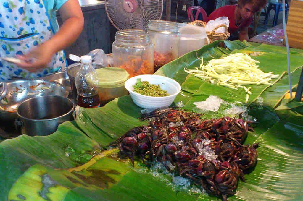 タイで食べたソムタム