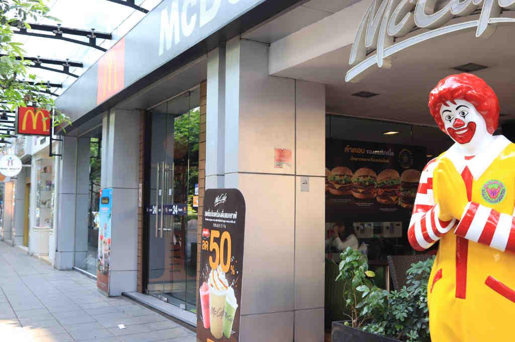 タイバンコクのマクドナルド