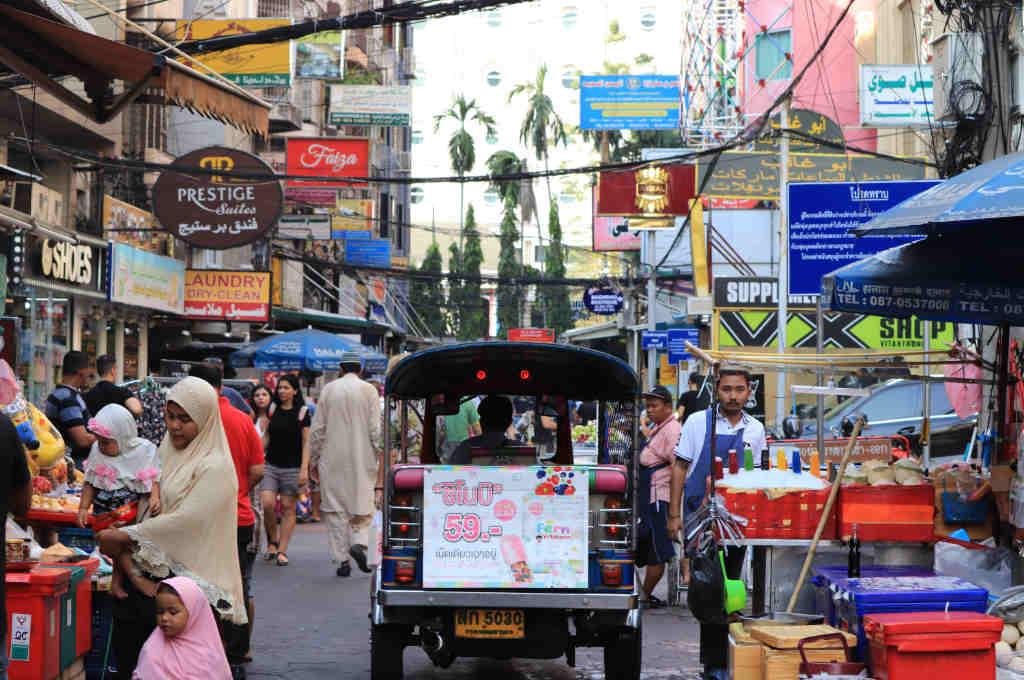 タイバンコクのアラブ人街