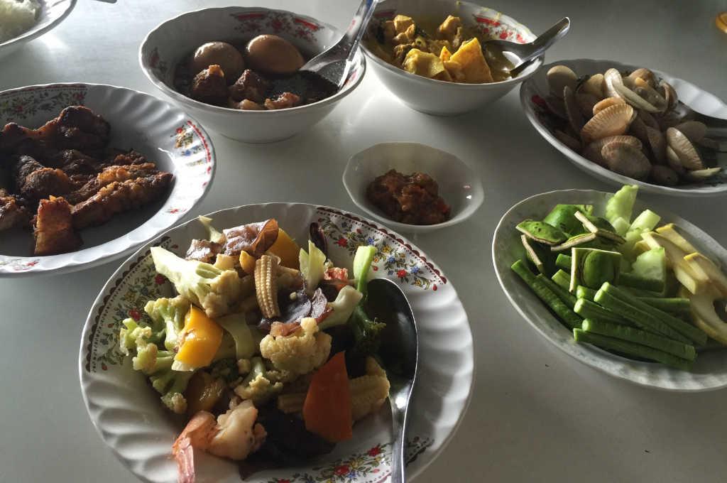 タイの南部料理
