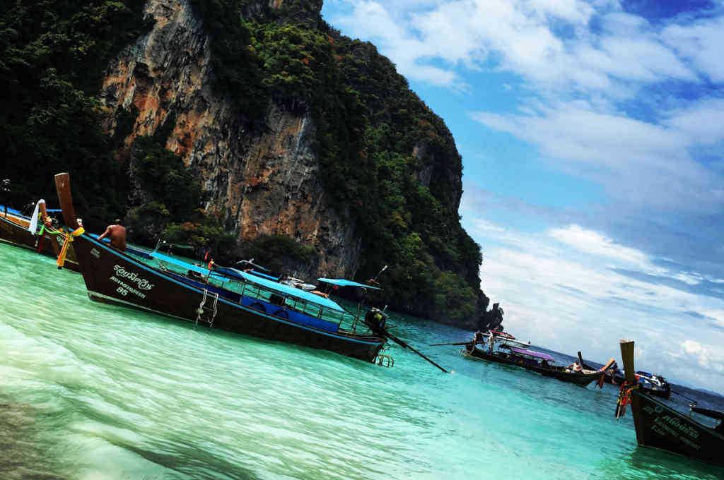 タイのピピ島