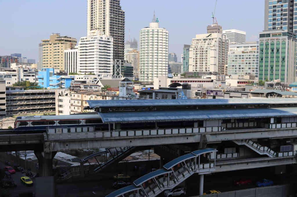 バンコクのBTSの駅