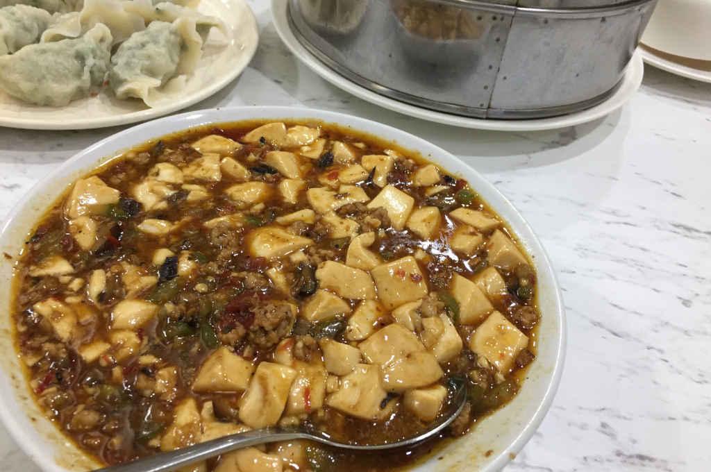 東来順の麻婆豆腐