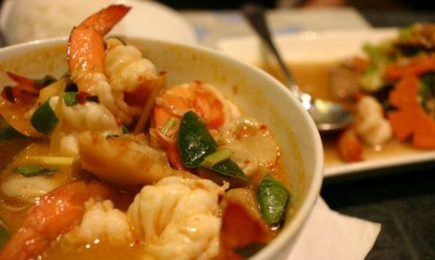 バンコクのターミナル21で食べたトムヤムクン