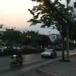 バンコクの大通り