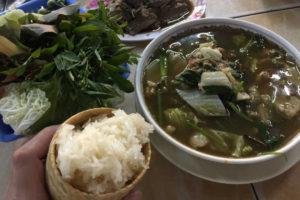 タイで食べたイサーン料理