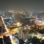 ステートタワーから見たバンコクの夜景