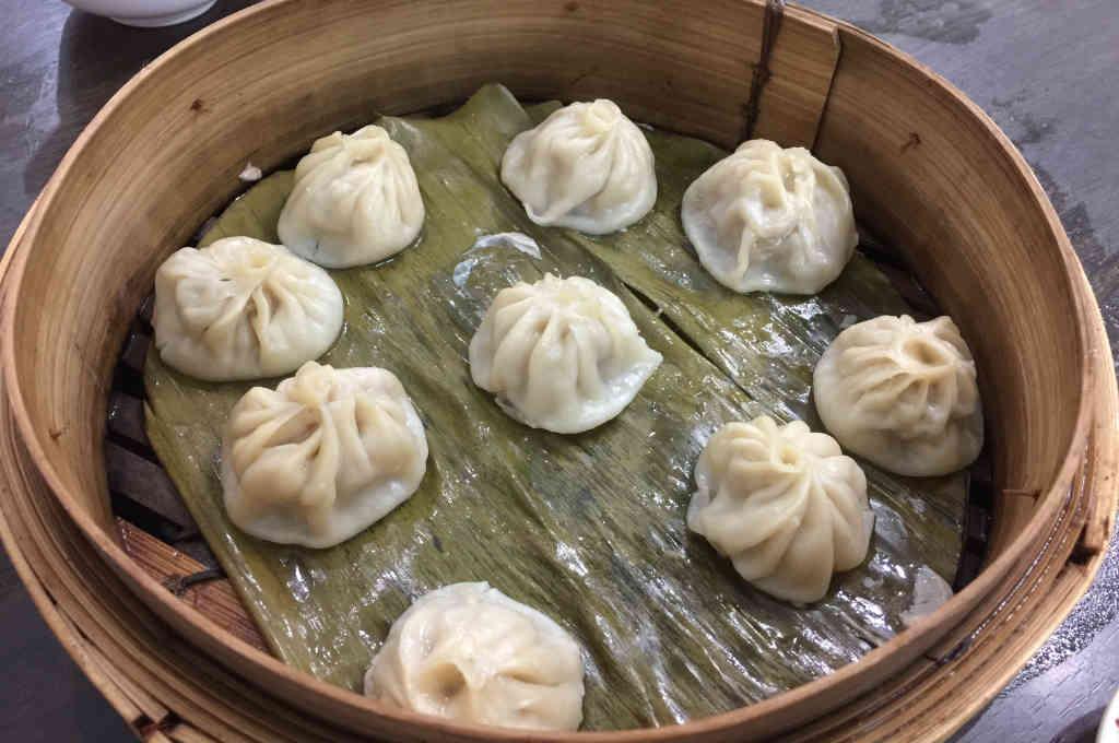 北京餐館の小籠包