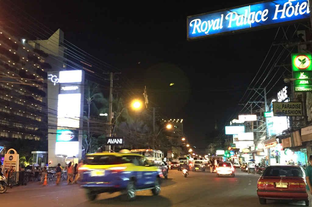 パタヤのロイヤルパレスホテル