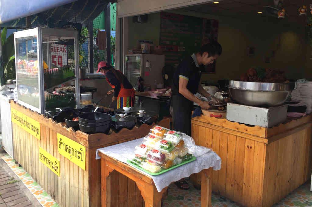 パタヤのカオマンガイ店