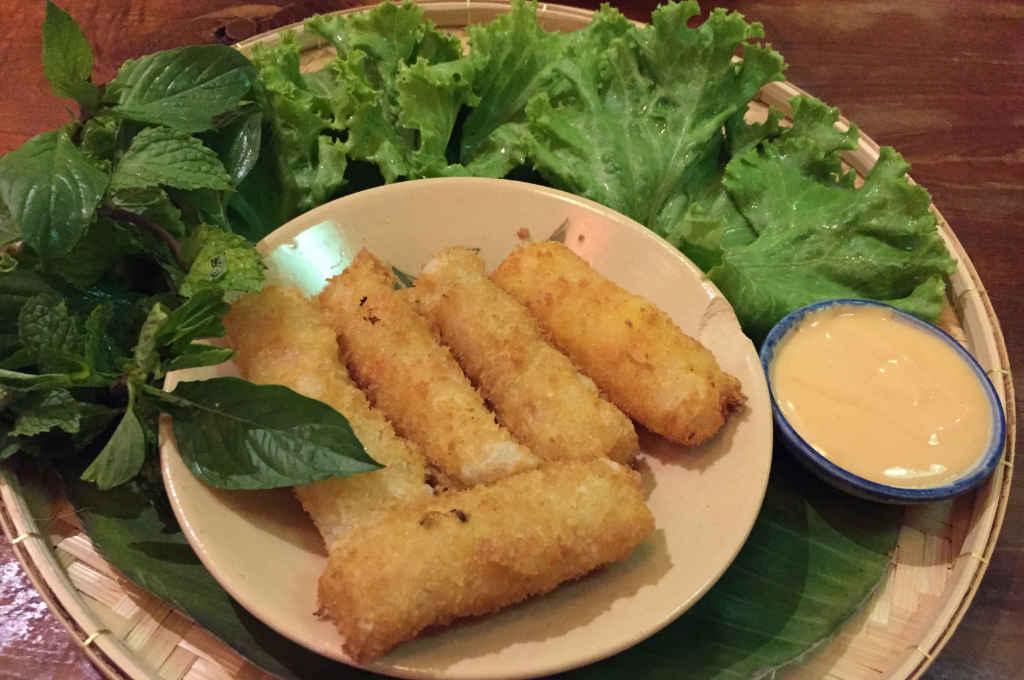 バンコクのベトナム料理「サイゴンレシピ」の料理