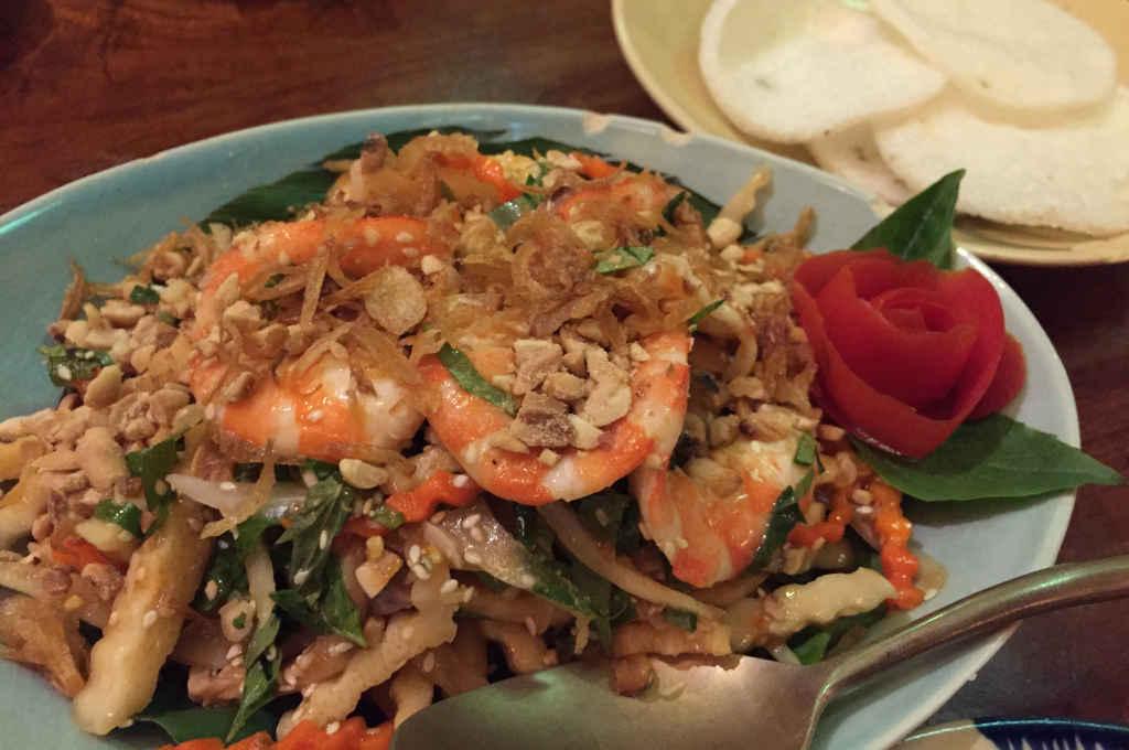 バンコクのベトナム料理「サイゴンレシピ」のメニュー
