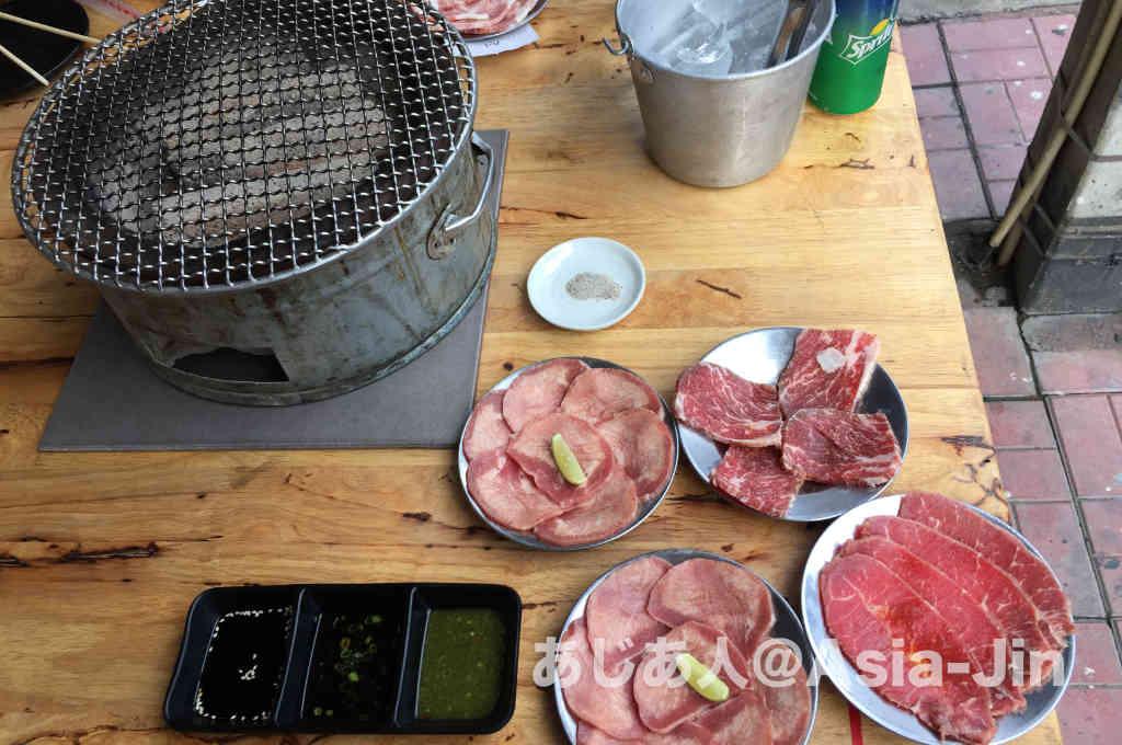 チェンマイの焼肉「KOBE KING」