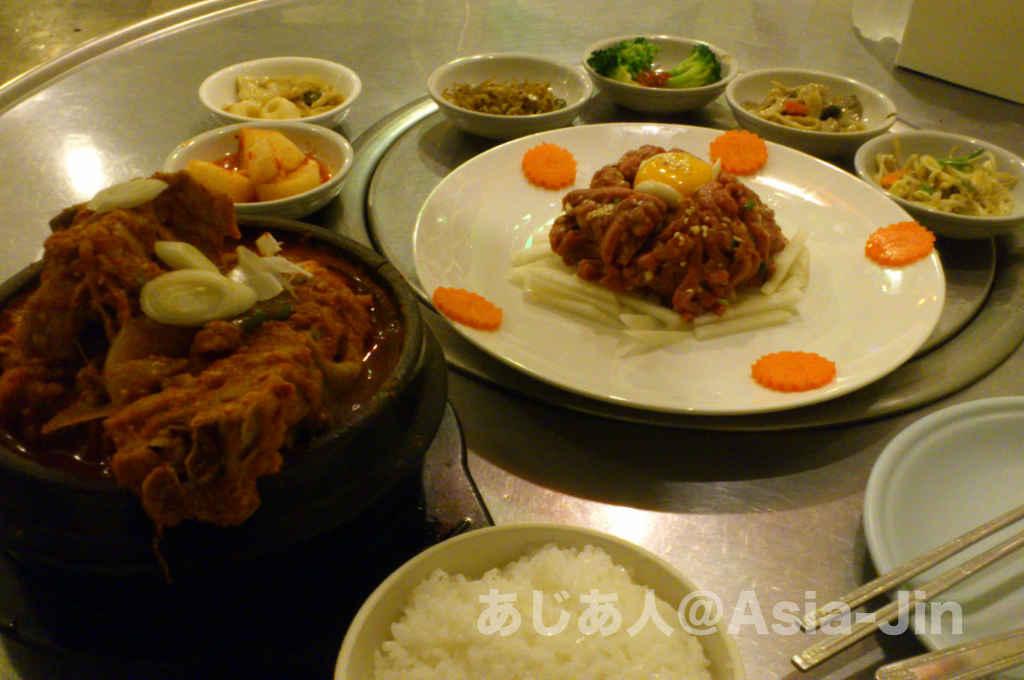 ホイクワンにある韓国料理「Drum」