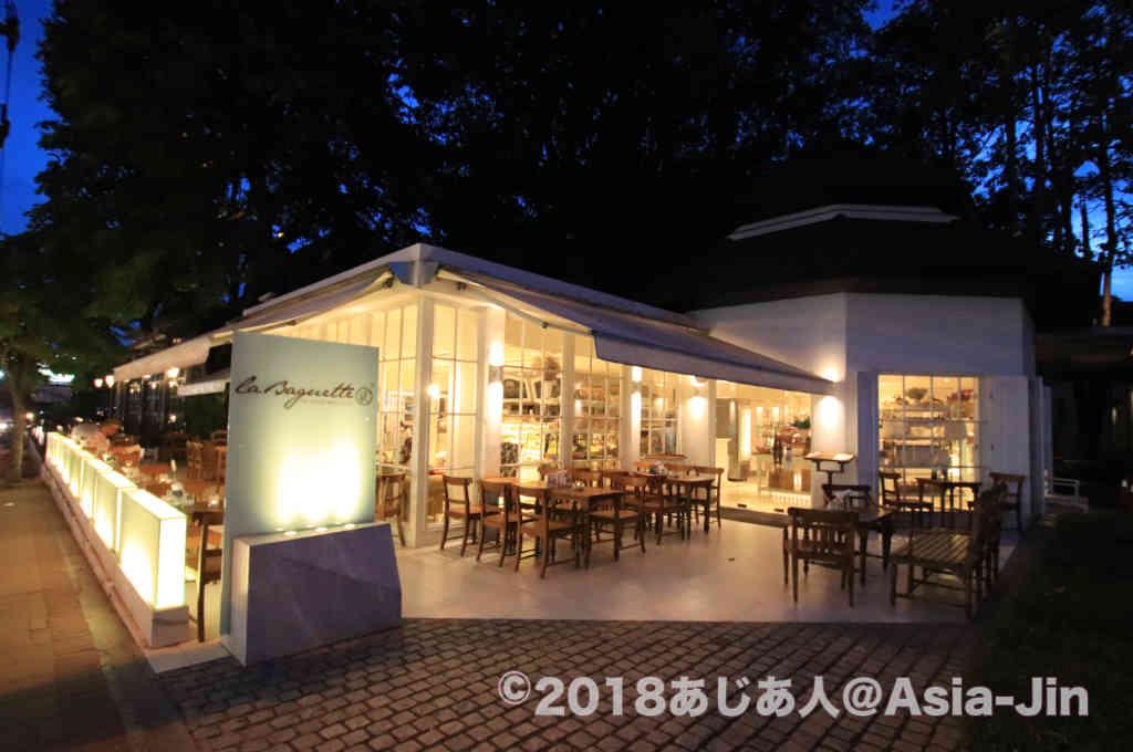 ノースパタヤのカフェ「La Baguette(ラ・バゲッタ)」