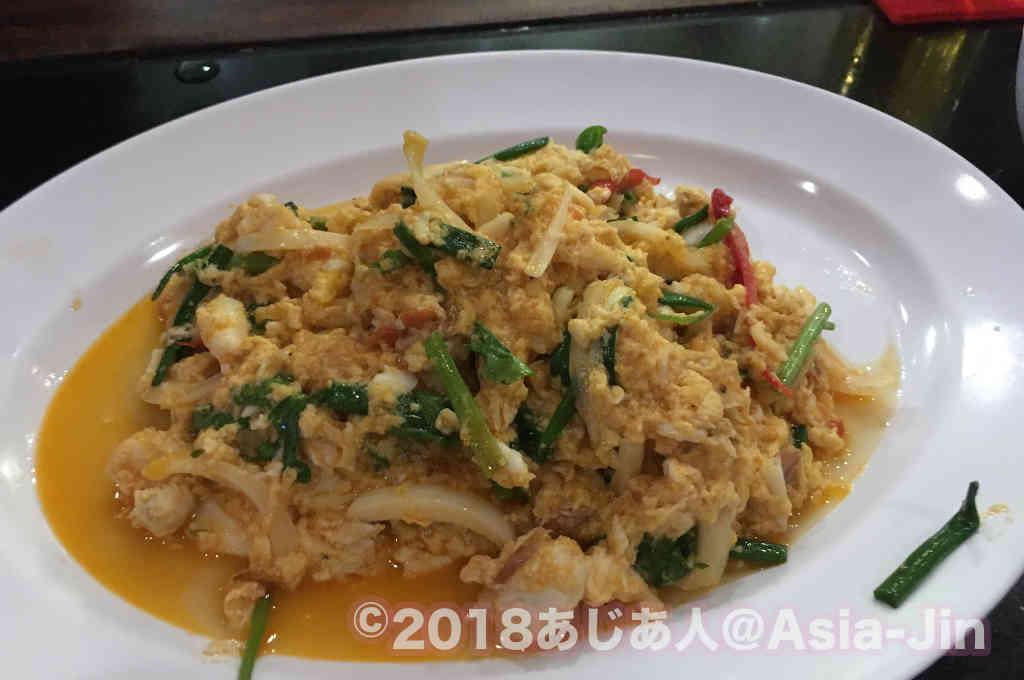 パタヤ「Moon Aroi(ムンアロイ)」の料理