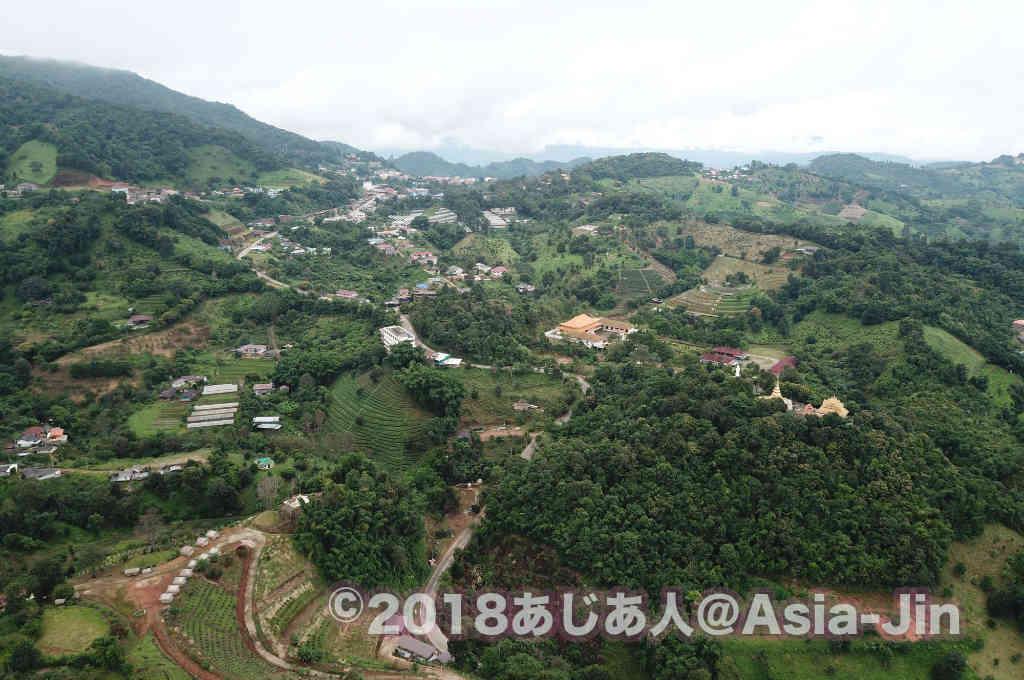 タイ北部、チェンライ県の「ドイ・メーサロン」は天空の村