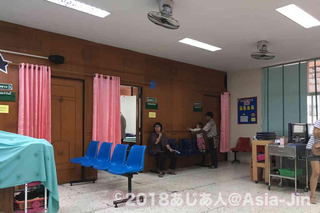北タイのメーチャン病院