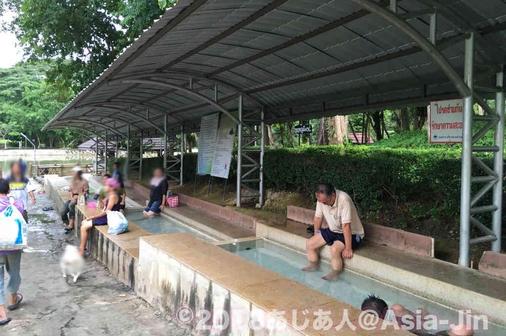 タイ最北の「パートゥン温泉」