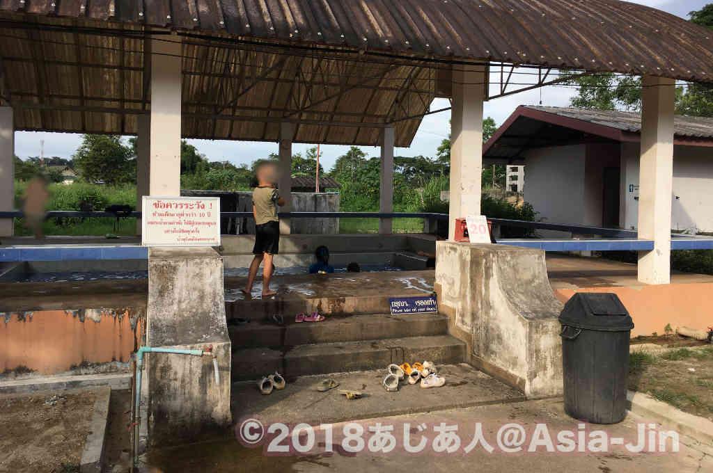 チェンライ県のポンプラバート(バンドゥ)温泉