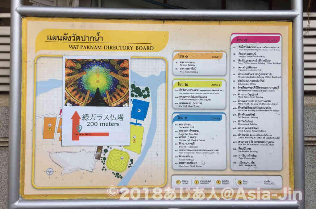 ワットパクナム寺院まで一番簡単にアクセスする方法