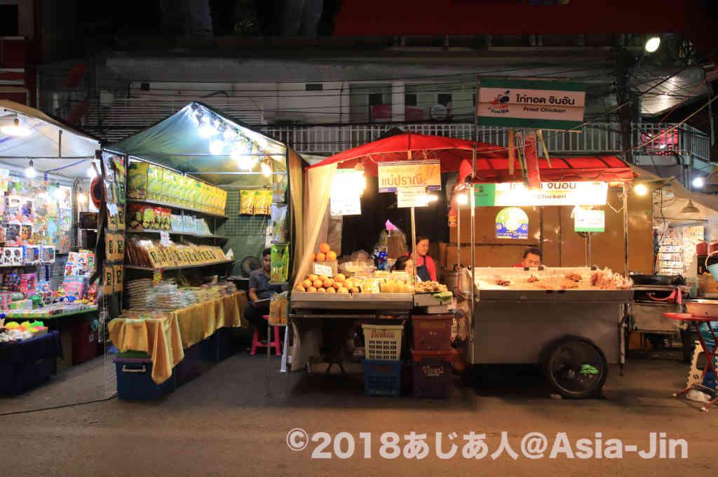 ホアヒンのナイトマーケット(夜市)