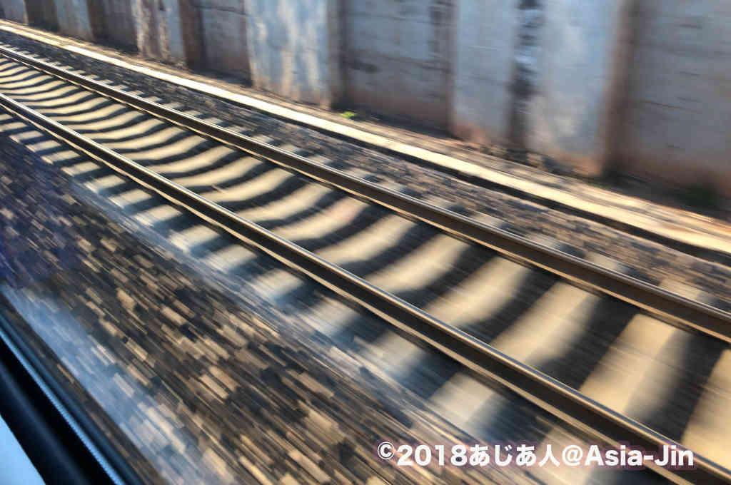 昆明から成都まで寝台列車で移動する