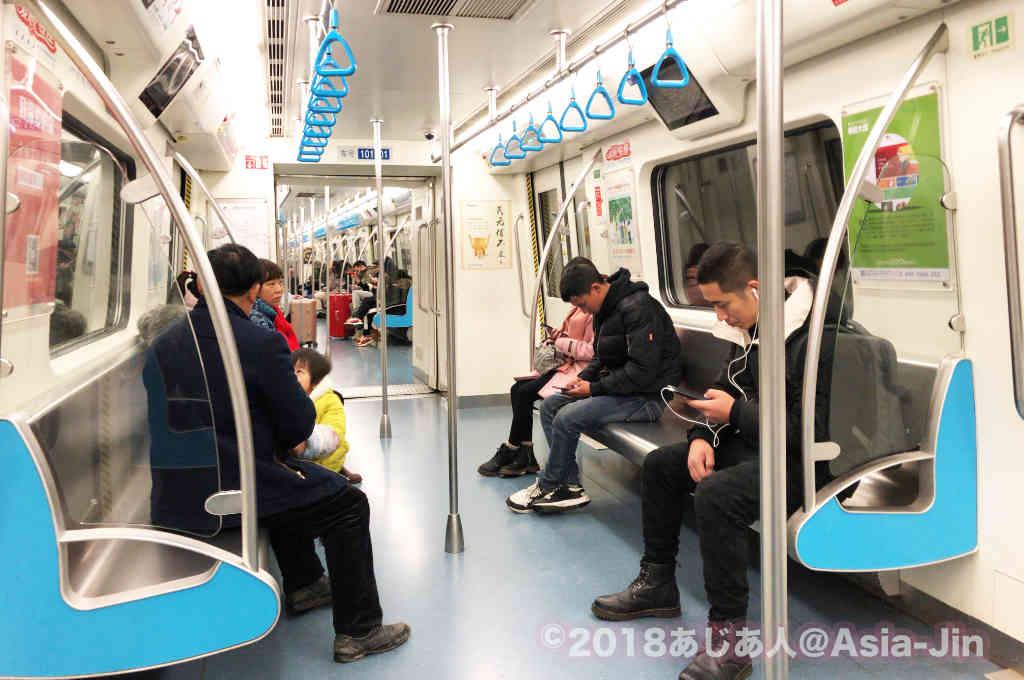 成都地下鉄の車両