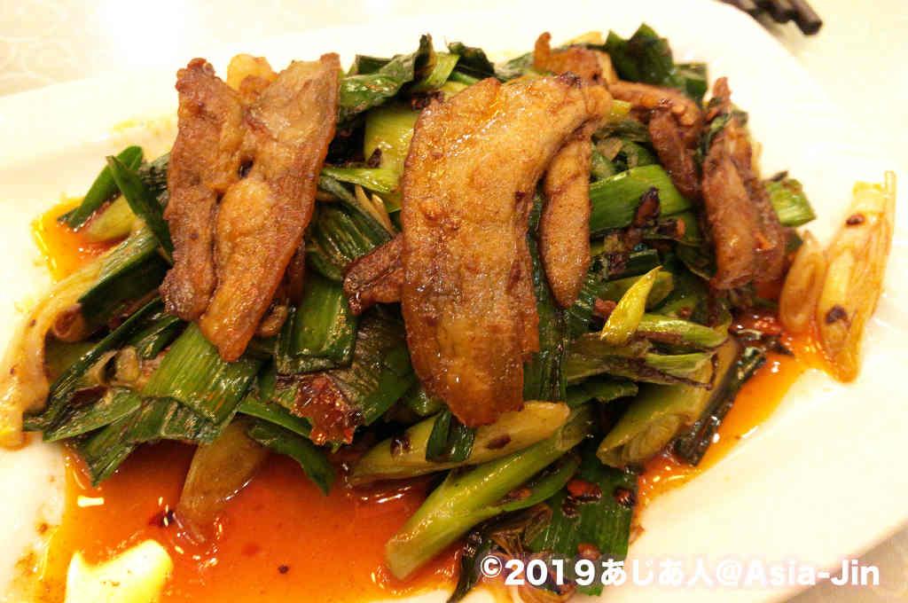 陳麻婆豆腐本店の回鍋肉