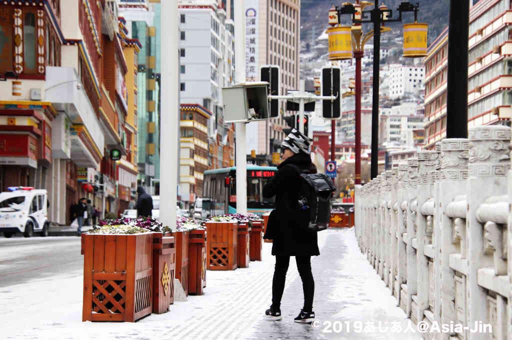 康定の町歩き