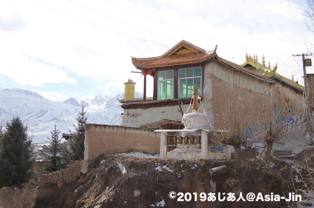 甘孜寺から見下ろす絶景
