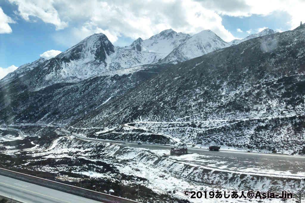甘孜から成都までバスの旅