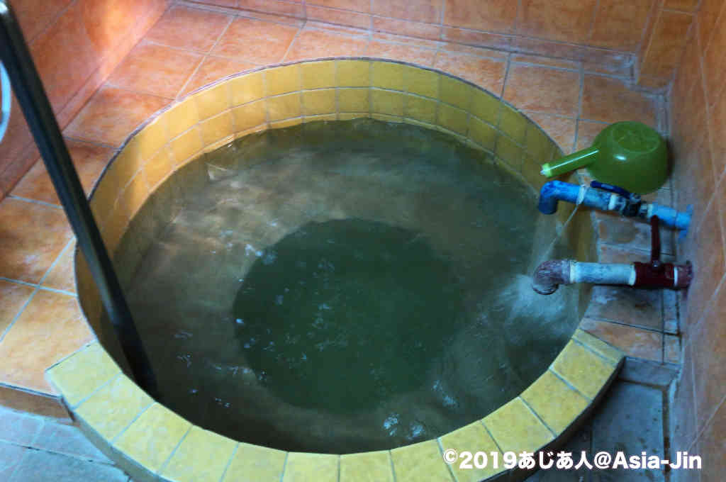 チェンマイのサンカムペーン温泉