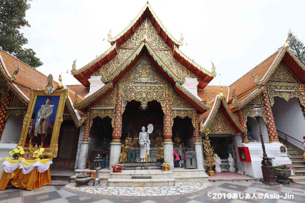 チェンマイ・ドイステープ寺院