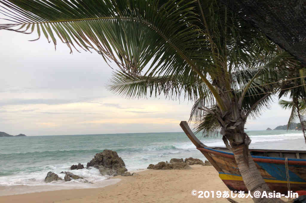 カリムビーチの景色