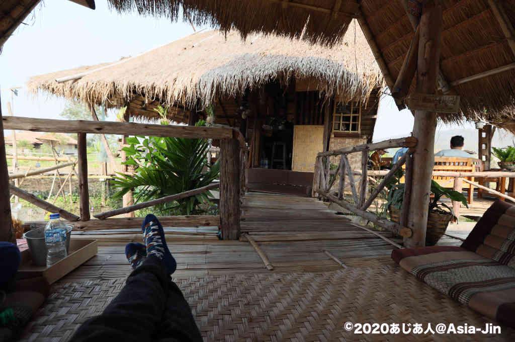 チェンダオの田園カフェ