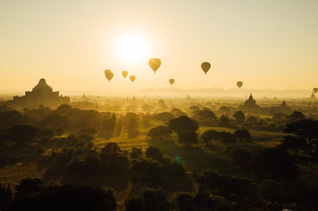 ミャンマー・パガンの仏教遺跡