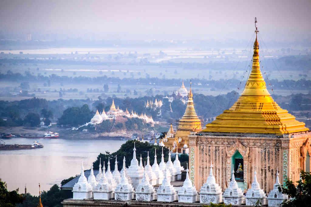 ミャンマー第二の都市マンダレー